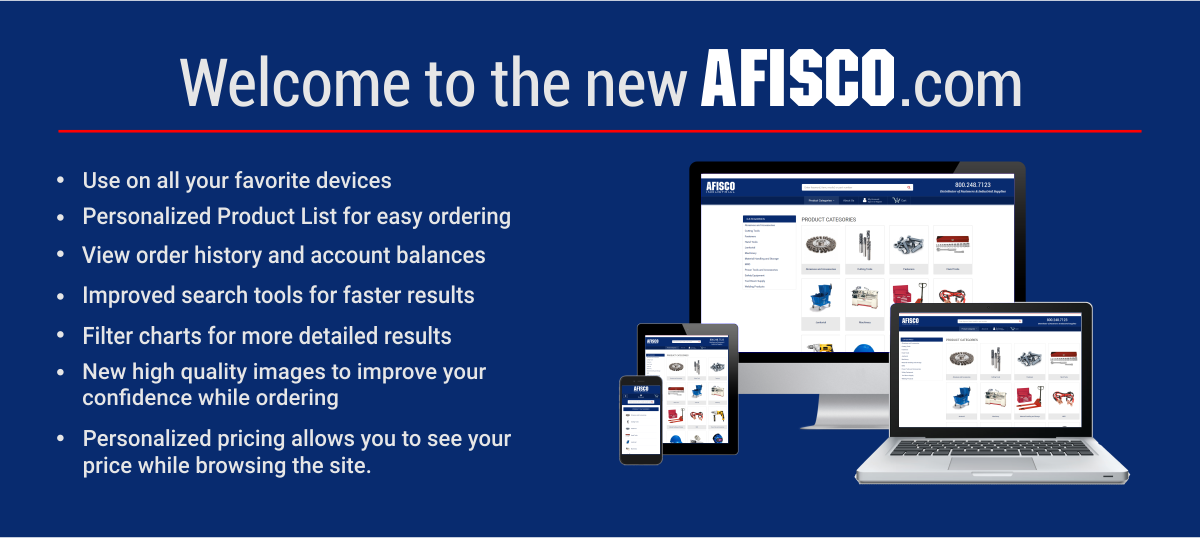 Welcome to the new afisco.com